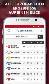 FC Bayern München App - News, Spielplan apk screenshot