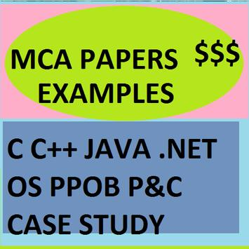 MCA Question Papers Samples poster