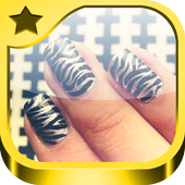 Step by step nail designs icon