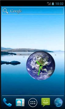 Earth Clock Widget apk screenshot