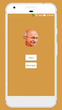 Mahatma Gandhi's Quotes poster