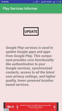 Services Update Informer screenshot 3