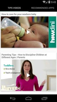 Parenting Tips for Newborns screenshot 1