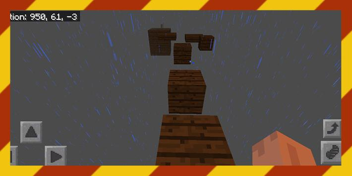 Dreamland Parkour. Map for MCPE poster