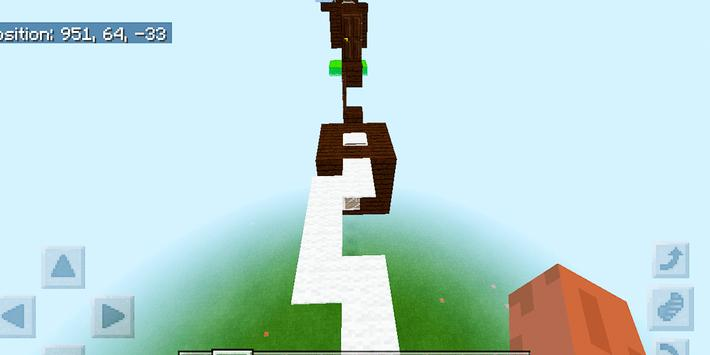 Dreamland Parkour. Map for MCPE screenshot 11