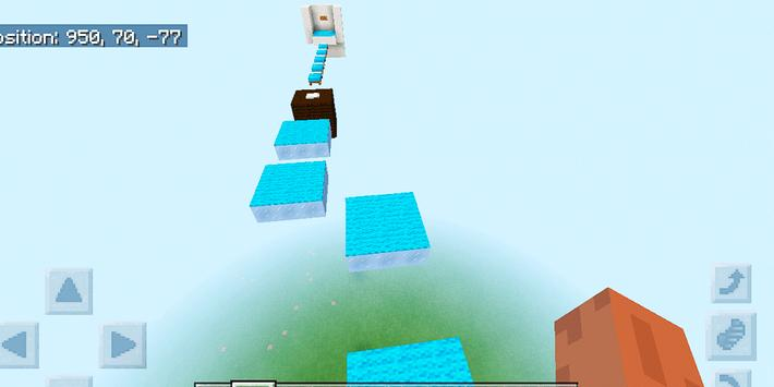 Dreamland Parkour. Map for MCPE screenshot 3