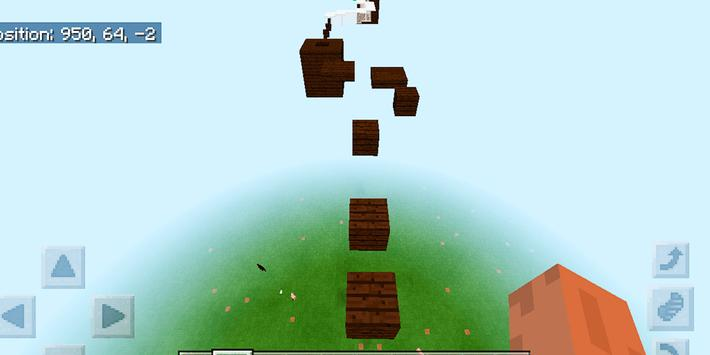 Dreamland Parkour. Map for MCPE screenshot 5