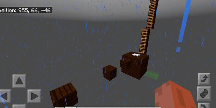 Dreamland Parkour. Map for MCPE screenshot 6
