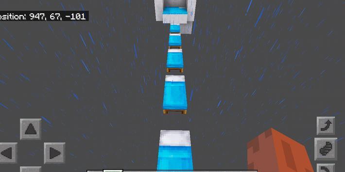 Dreamland Parkour. Map for MCPE apk screenshot