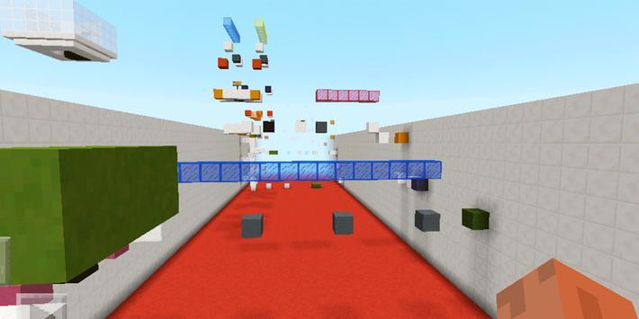 100 Incredible Jumps. MCPE map apk screenshot