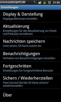 Parkgott apk screenshot