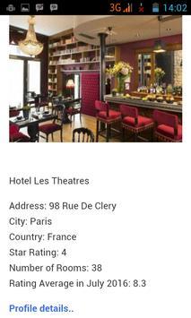 Paris Hotels poster