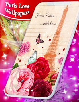 Paris Love Live Wallpapers screenshot 4
