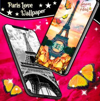 Paris Love Live Wallpapers screenshot 5