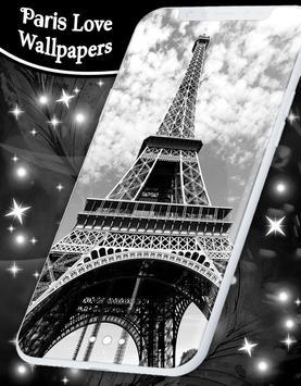 Paris Love Live Wallpapers screenshot 7