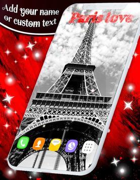 Paris Love Live Wallpapers screenshot 3