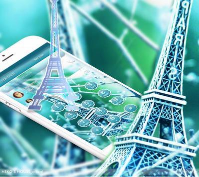 Elegant Paris Eiffel Tower Theme screenshot 4