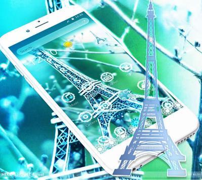 Elegant Paris Eiffel Tower Theme screenshot 2