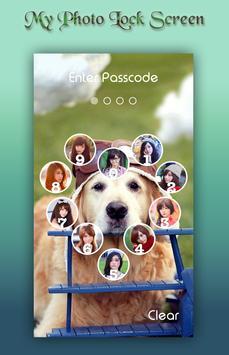 Cute Dog Lock Screen apk screenshot