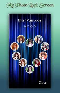 Blue Lock Screen apk screenshot