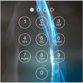 Blue Grey Lock Screen icon