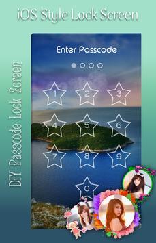 Island Lock Screen poster