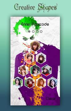 Joker Lock Screen apk screenshot