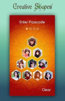 Orange Lock Screen screenshot 5