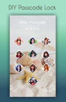 Sea Shell Lock Screen screenshot 2