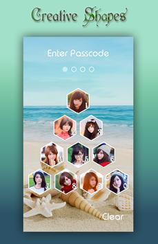 Sea Shell Lock Screen screenshot 5