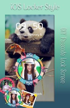 Panda Lock Screen screenshot 1