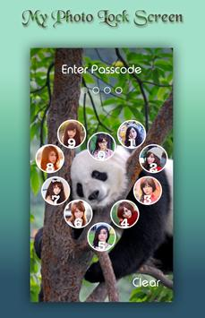 Panda Lock Screen screenshot 3
