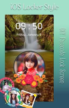 Waterfall Lock Screen apk screenshot