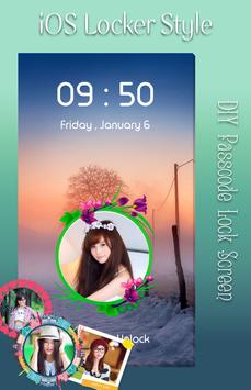 Winter Snow Lock Screen apk screenshot