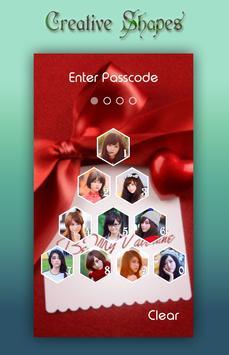 Valentine Lock Screen screenshot 5