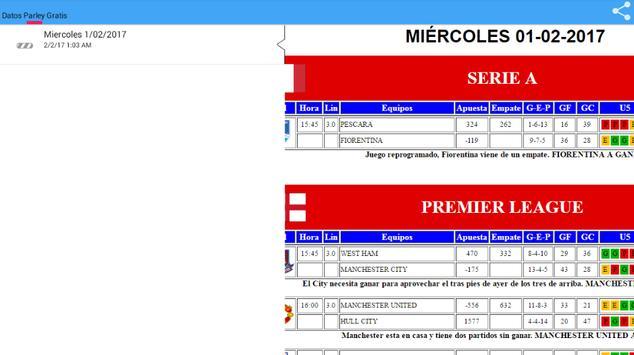 Parley Datos Gratis apk screenshot