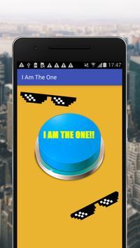 I Am The One Button apk screenshot
