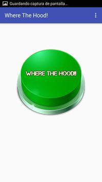 Hood Button poster