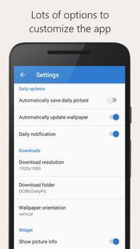 DailyPic — Bing Wallpaper apk screenshot
