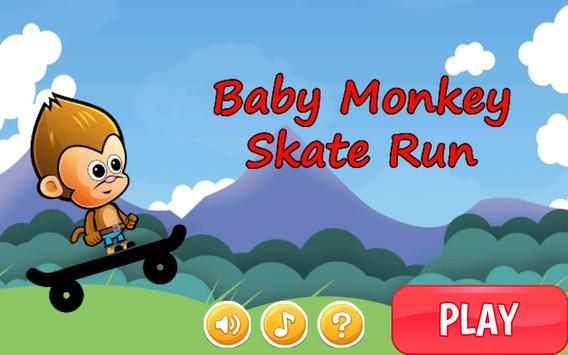 Baby Monkey Skate Run poster