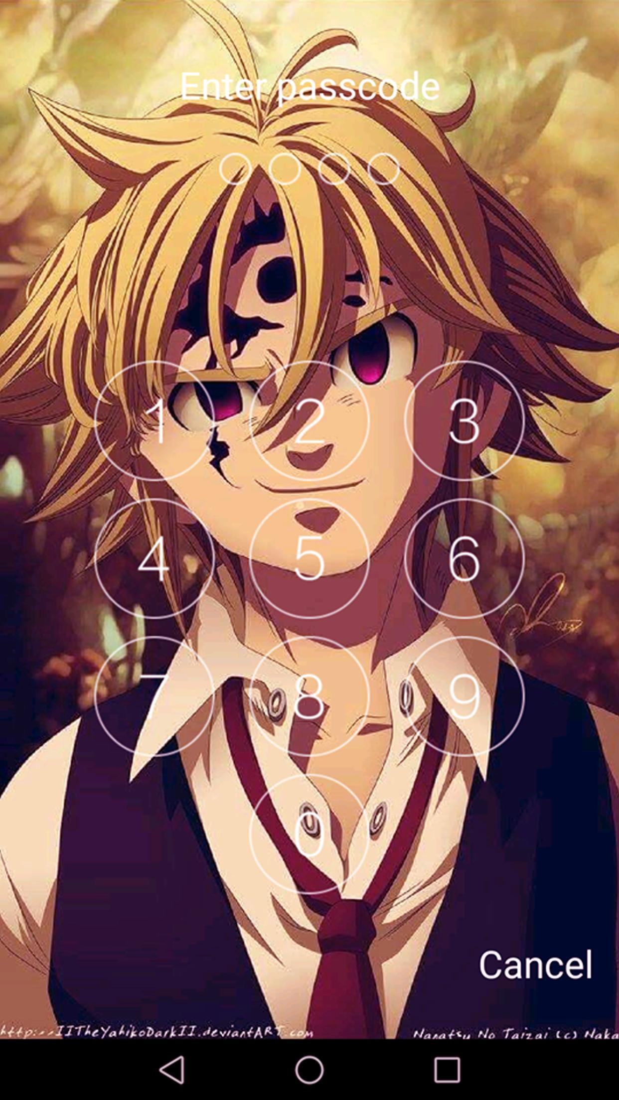 Keypad For The Seven Deadly Sins Wallpaper Hd 2018 For Android