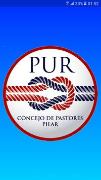 PUR Pastores Unidos del Reino poster