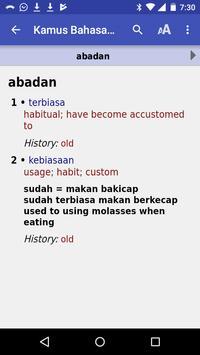 Kamus Bahasa Banjar screenshot 1