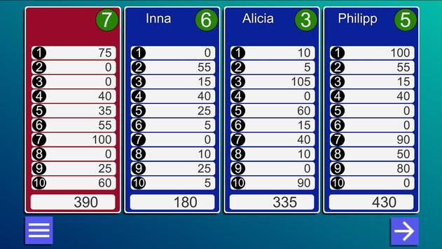 10 Phases card game apk screenshot