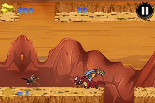 Super Stallion GravityRun Free screenshot 2