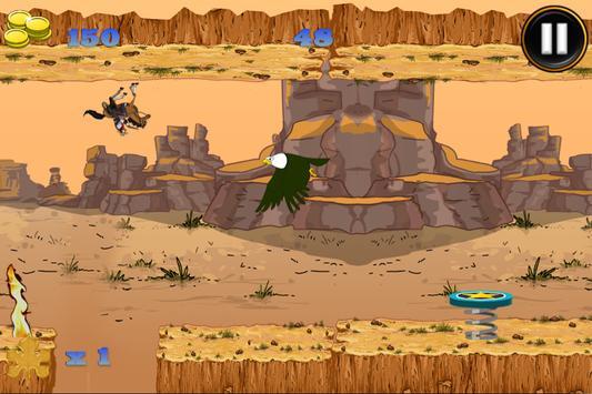 Super Stallion GravityRun Free screenshot 5