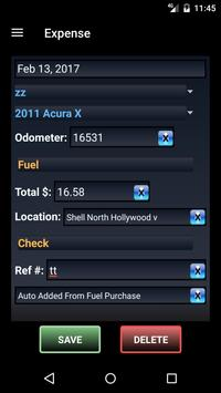 Vehicle Ledger Pro - Manager apk screenshot