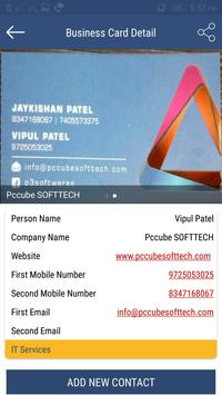 Business Card Holder apk screenshot