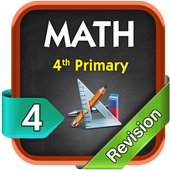 Math Revision Fourth Primary T1 icon