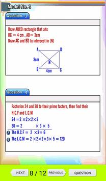 Math Revision Fourth Primary T1 apk screenshot